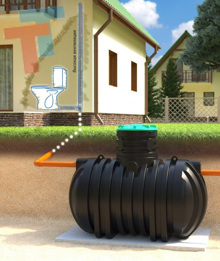 Бочка для канализации
