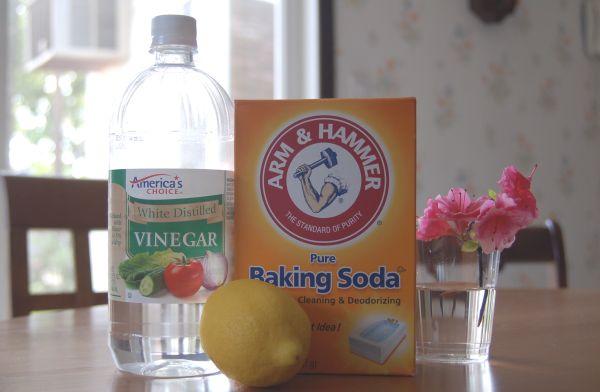 Раствор из соды и уксуса