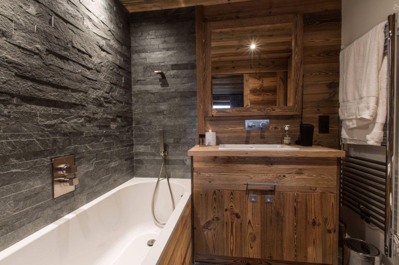 Деревенские идеи ванной комнаты, вдохновленные красотой природы (43 фото)