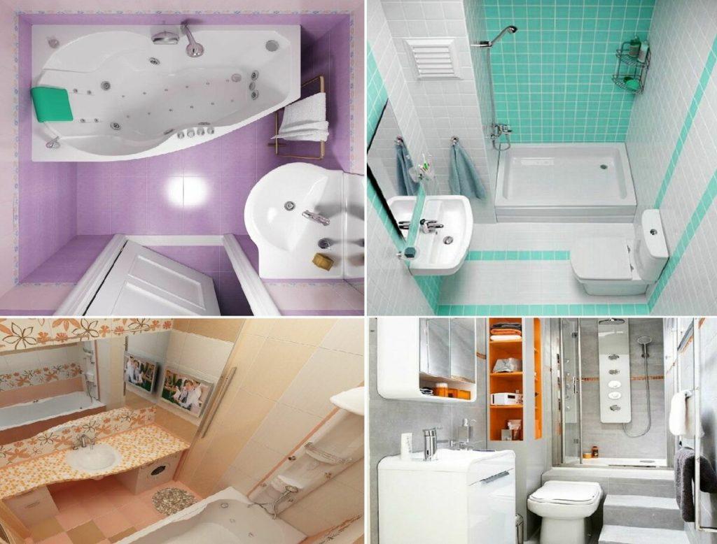 Как обустроить маленькую ванную комнату с ограниченным бюджетом (видео)