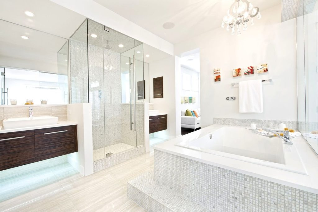 Идеи европейского дизайна ванных комнат для вдохновения