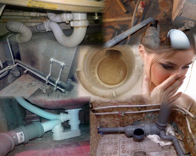 Как убрать запах канализации?