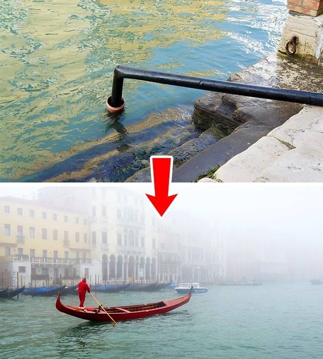 Как устроена канализация в Венеции видео