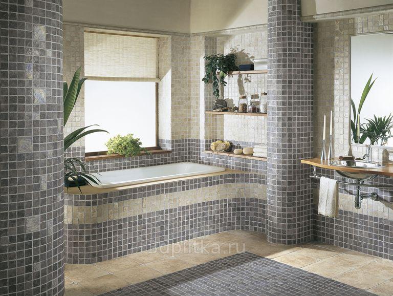 Облицовка стен в ванной