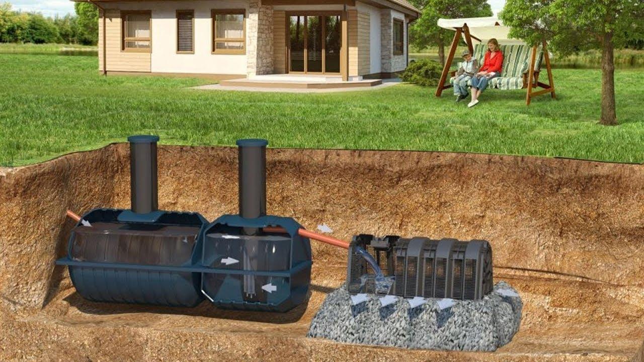 Оборудование местной канализации