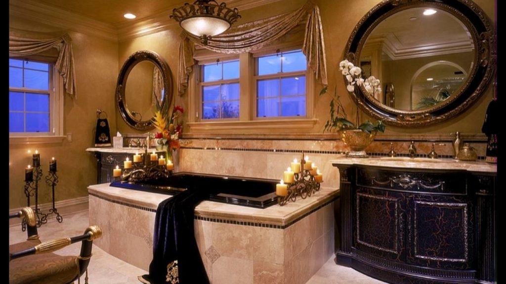 Средиземноморский стиль в ванной комнате фото. Тренды 2021 года