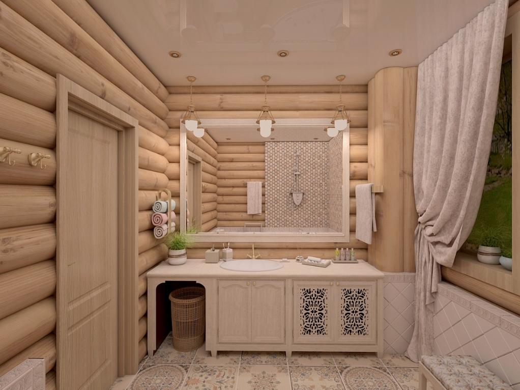 Тенденции дизайна ванной комнаты в деревенском стиле в 2021 году