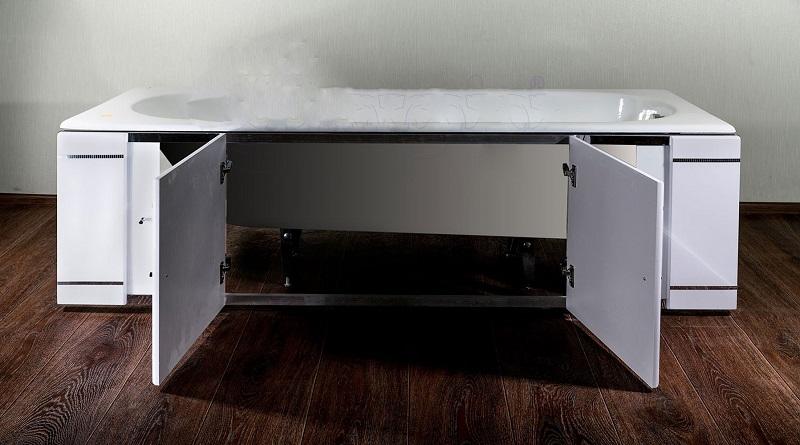 Распашные экраны для ванн