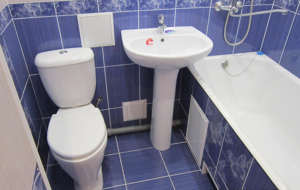 Ремонт санузла и ванной - Ванная комната ремонт своими руками