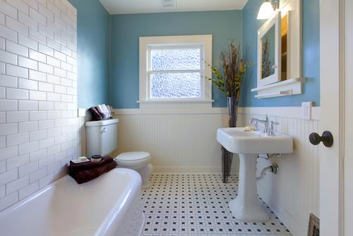 Ремонт ванной комнаты перед продажей дома