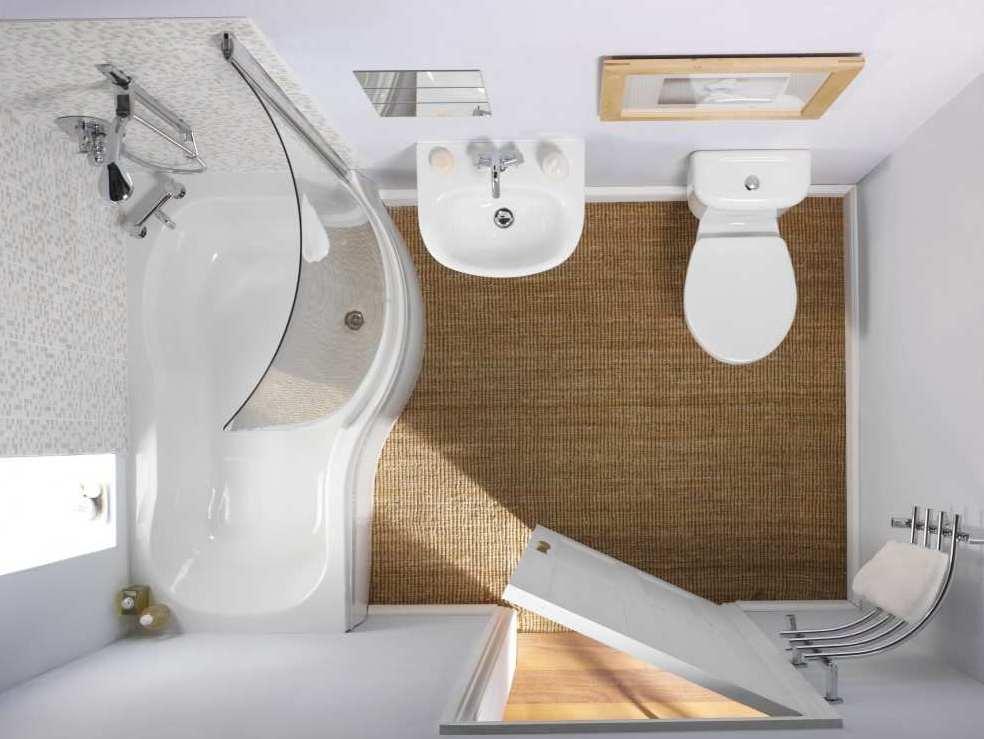 Секреты в интерьере маленькой ванной