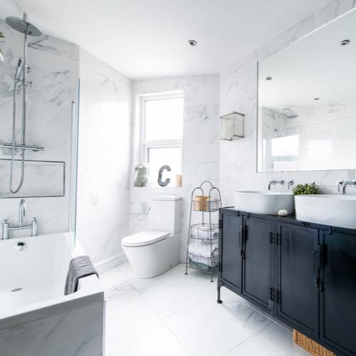 Современные ванные комнаты – серия тенденций стиля 2021 года