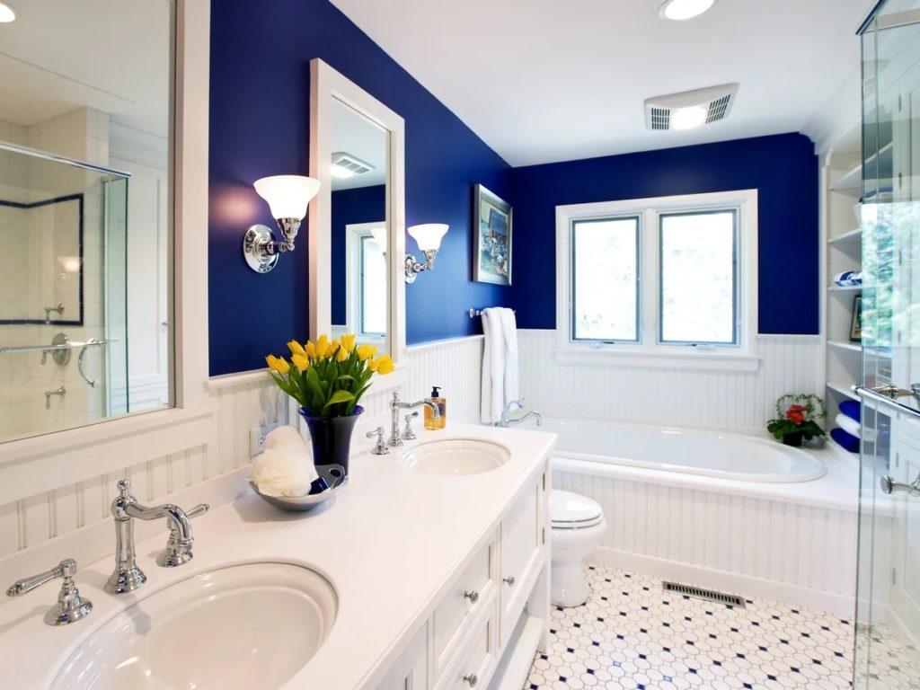 В каком стиле сделать ванную комнату?