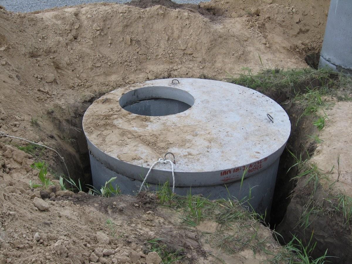 Яма для канализации в частном доме