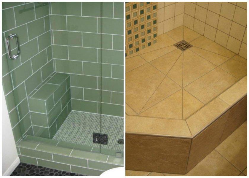 Как сделать в ванной комнате душевой уголок без поддона - 7 видео