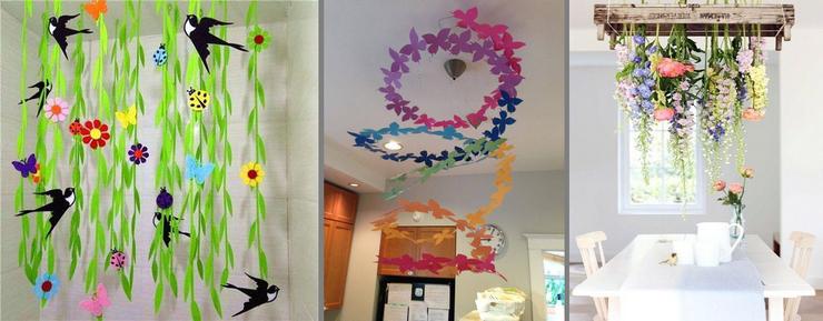 Как украсить ванную комнату к весне (фото и видео)