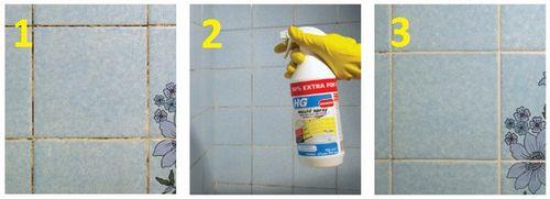 Как обновить швы между плиткой в ванной