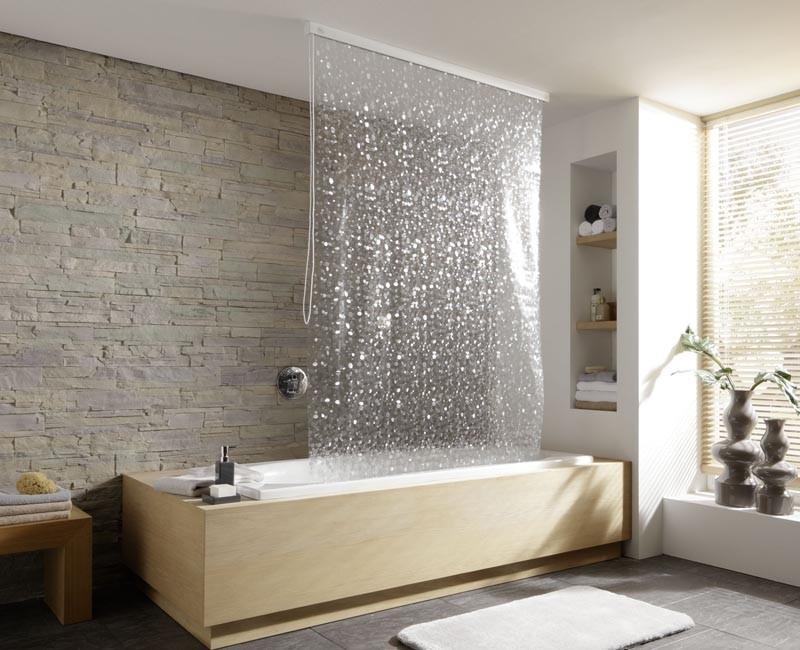 штора в ванную