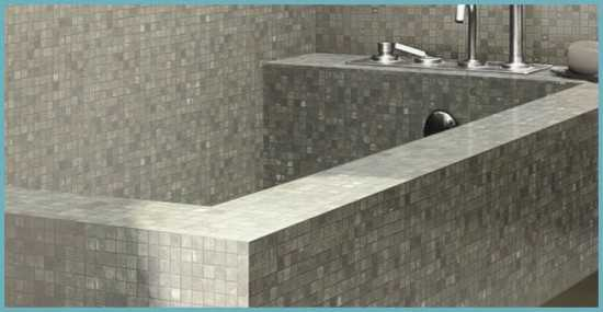Кирпичная ванна